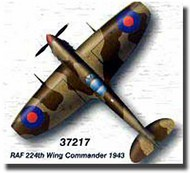 Easy Model  1/72 Spitfire MK.V /Trop RAF 224th Wing Commander 1943 WWII MRC37217