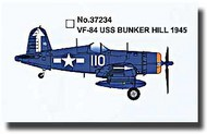 Easy Model  1/72 F4U-1 Corsair VF-84 USS Bunker Hill 1945 MRC37234