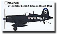 Easy Model  1/72 F4U-4 Corsair VF-53 USS Essex Korean Coast 1952 MRC37236