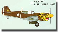 Easy Model  1/72 P-40E Warhawk 11th FS 343rd FG 1942 MRC37272