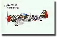 Easy Model  1/72 P-47D Thunderbolt 61st FS/56th FG WWII MRC37288