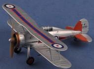 MRC  1/48 Gloster Gladiator Mk I 72nd Sq. RAF Yorkshire Jun. 1936 (Built-Up Plastic) MRC39322