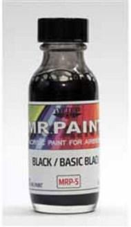 MRP/Mr Paint  Mr Paint for Airbrush Black 30ml (for Airbrush only) MRP005