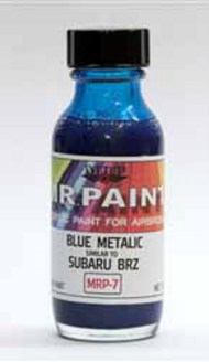 MRP/Mr Paint  Mr Paint for Airbrush Blue Metalic Subaru BRZ 30ml (for Airbrush only) MRP007