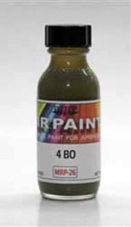 MRP/Mr Paint  Mr Paint for Airbrush 4BO Russian AFV Green 30ml (for Airbrush only) MRP026