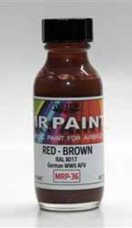 MRP/Mr Paint  Mr Paint for Airbrush Red Brown RAL8017 30ml (for Airbrush only) MRP036