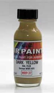 MRP/Mr Paint  Mr Paint for Airbrush Dark Yellow RAL7028 30ml (for Airbrush only) MRP037
