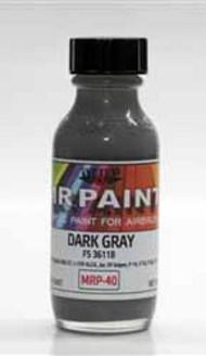 MRP/Mr Paint  Mr Paint for Airbrush Gunship Grey FS36118 ANA603 30ml (for Airbrush only) MRP040