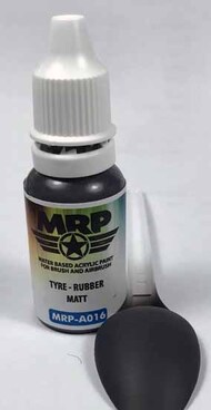 MRP/Mr Paint  MRP Aqua Paint Line Tyre - Rubber (Matt) 17ml MRPA016A