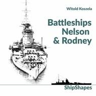 Mushroom Model Publications  No Scale ShipShapes Battleships Nelson and Rodney by Witold Koszela MMP35-8