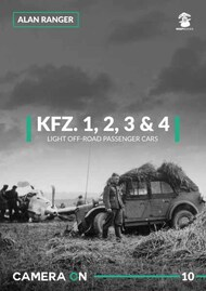 Mushroom Model Publications  No Scale Kfz.1 Kfz.2 Kfz.3 & Kfz.4 Light Off-Road Passenger Cars 'Camera On' series MMPCAM10