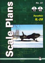 Mushroom Model Publications  1/48 No. 22 Ilyushin Il-28: 1/48/32/72 QM8777