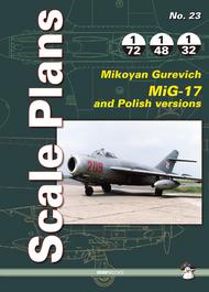 Mushroom Model Publications  1/32 No. 23: Mikoyan-Gurevich MiG-17 QM8838