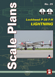 Mushroom Model Publications  1/32 No. 25: Lockheed P-38 F-H Lightning QM8876