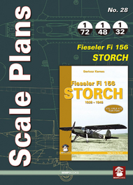 Mushroom Model Publications  1/32 No. 28: Fieseler Fi 156 Storch QM8975