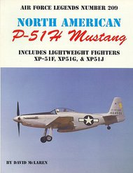 Ginter Books   N/A Air Force Legends: North American P-51H Mustang GIN209