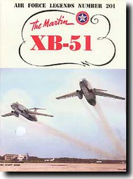 Ginter Books   N/A Air Force Legends: The Martin XB-51 GINAF201