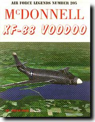 Ginter Books   N/A Air Force Legends: McDonnell XF-88 Voodoo GINAF205