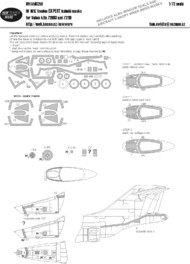 New Ware  1/72 McDonnell RF-101C Voodoo EXPERT (designed to be used with Valom kits) NWAM0256