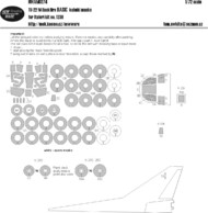 New Ware  1/72 Tuploev Tu-22M Backfire C BASIC kabuki masks windows, wheels, white panels (designed to be used with Italeri IT1238 kits) NWAM0274