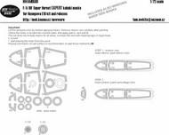 Boeing F/A-18F Super Hornet EXPERT Kabuki Masks #NWAM0580