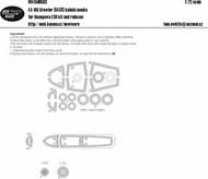 Boeing EA-18G Growler BASIC Kabuki Masks #NWAM0583
