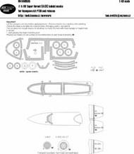 Boeing F/A-18F Super Hornet BASIC Kabuki Masks #NWAM0585