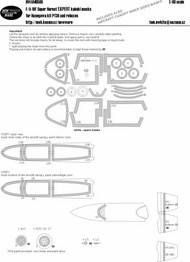 Boeing F/A-18F Super Hornet EXPERT Kabuki Masks #NWAM0586