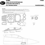 Panavia Tornado F.3 ADV, IDS, GR.4 BASIC kabuki masks #NWAM0597