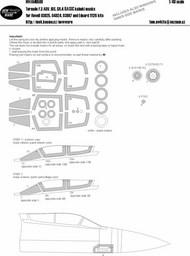 Panavia Tornado F.3 ADV, IDS, GR.4 EXPERT kabuki masks #NWAM0598