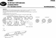 Yakovlev Yak-38U Forger B BASIC kabuki masksaircraft canopy, other clear part, wheels #NWAM0627