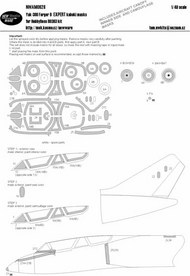 Yakovlev Yak-38U Forger B EXPERT kabuki masks aircraft canopy #NWAM0628