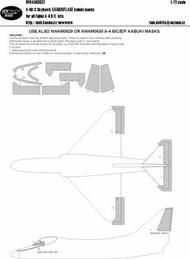 Douglas A-4B/A-4C/A-4E/A-4F Skyhawk CAMOUFLAGE kabuki masks #NWAM0631