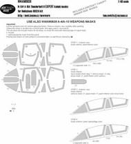 Fairchild A-10A Thunderbolt II EXPERT kabuki masks #NWAM0638