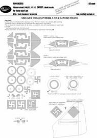 Messerschmitt Me.262A-1/A-2 EXPERT kabuki masks #NWAM0646