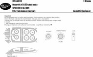 Gloster Meteor NF.14 BASIC kabuki masks #NWAM0718