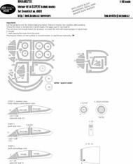 Gloster Meteor NF.14 EXPERT kabuki masks #NWAM0720