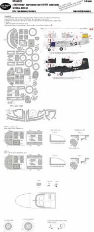 Douglas A-26C-15 Invader - color schemes 1 and 2 EXPERT kabuki masks #NWAM0722