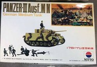 Nitto  1/76 Collection - Panzer III Ausf.M/N NIT76006
