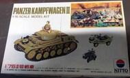 Nitto  1/76 Collection -  Panzerkampfwagen II NIT76019