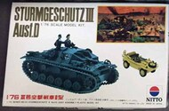 Nitto  1/76 Collection - Sturmgeschutze III Ausf.D NIT76022