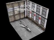 Noys Miniatures  1/32 'Soviet Fighter Hangar Set': Three 1/32 sheets as follows NM32034