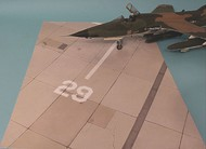 Noys Miniatures  1/48 Vietnam aircraft concrete parking area of US airbases in Vietnam NM48003