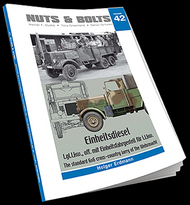 Einheitsdiesel - l.gl.Lkw., off. mit Einheitsfahrgestell fnr l.Lkw. The standard 6x6 cross-country lorry of the Wehrmacht #NB042