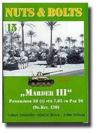 Marder III Panzerjager 38(t) fur 7.62cm Pak 36 #NB015