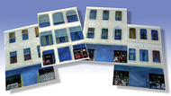 O GAUGE RAILROADING  O Kitbashing: Varoius Window Graphics (4/cds) OGR29
