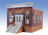 O GAUGE RAILROADING  O Ameri-Towne: Post Office 1-Story Building Kit OGR302
