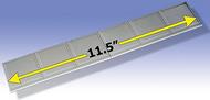 """O GAUGE RAILROADING  O Kitbashing: Sidewalk Sections (2 5.75"""") OGR34"""