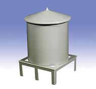 O GAUGE RAILROADING  O Kitbashing: Roof Top Water Tank OGR37