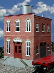 O GAUGE RAILROADING  O Ameri-Towne: Acme Machine Co. 2-Story Building Kit OGR442
